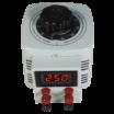 Szabályozható toroid transzformátor, digitális, 0…250 V / 500 W, McPower V-2000 LED