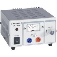 Voltcraft PS-1152 A - Lineáris labortápegység, 1,5 - 15 V / 1,5 A