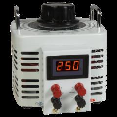 Szabályozható toroid transzformátor, digitális, 0…250 V / 2000 W, McPower V-8000 LED