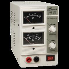 McPower RNG-1502 - Analóg labortápegység, 0 - 15 V / 0 - 2 A