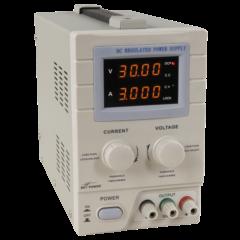 McPower LBN-330 - Digitális labortápegység, 0 - 30 V / 0 - 3 A