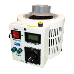 Szabályozható toroid transzformátor - 0…250 V / 1000 W, M10-522LCD-10