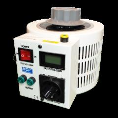 Szabályozható toroid transzformátor - 0…250 V / 3000 W, M10-522LCD-30