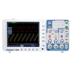Peaktech 1240 - Digitális tárolós oszcilloszkóp 60 MHz, 500 MSa/s