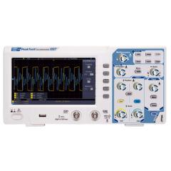 Peaktech 1337 - Digitális tárolós oszcilloszkóp, 100 MHz, 1 GSa/s