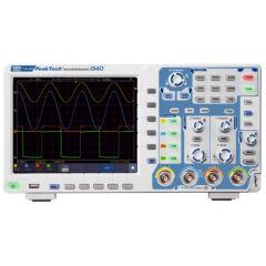Peaktech 1340 - Digitális tárolós oszcilloszkóp 60 MHz, 1 GSa/s