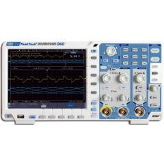 Peaktech 1360 - Digitális tárolós oszcilloszkóp, 100 MHz, 1 GSa/s