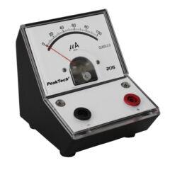 Peaktech 205-02 - Analóg árammérő, 0 ... 100 µA DC