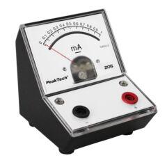 Peaktech 205-03 - Analóg árammérő, 0 ... 1 mA DC
