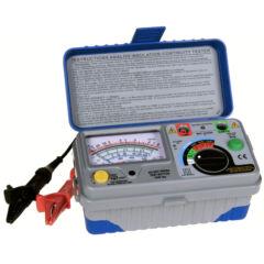 Peaktech 2675 - Analóg szigetelési ellenállásmérő, 1000 V, 400 MΩ