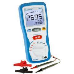 Peaktech 2695 - Digitális szigetelési ellenállásmérő, 1000 V, 4000 MΩ