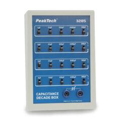 Peaktech 3285 - Kapacitás dekád box