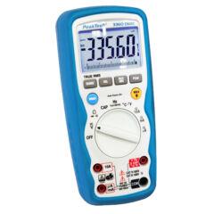 Peaktech 3360 - Digitális multiméter, True RMS, IP67