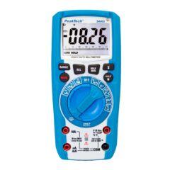 Peaktech 3443 - Digitális multiméter, IP67, Lámpával