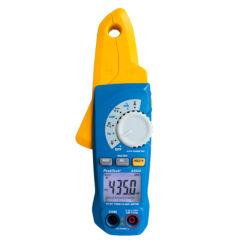 Peaktech 4350 - Digitális szivárgó áram mérő lakatfogó + DMM, 80 A AC/DC, True RMS