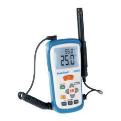 Peaktech 5090 - Infra hőmérő és páratartalom mérő