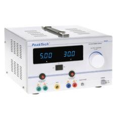 Peaktech 6120 - AC/DC labortápegység 0 - 30 V / 5 A