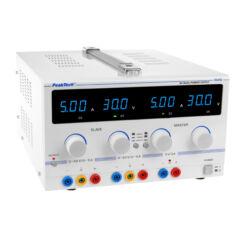 Peaktech 6145 - Digitális labortápegység, 0 - 30 V / 0 - 5 A DC