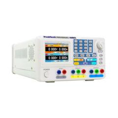 Peaktech 6180 - Digitális labortápegység, 2 x 0 - 30 V / 2 x 0 - 3 A DC, 5 V/3 A fix
