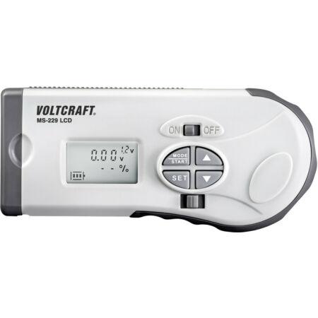 Digitális elemteszter 1,2 - 12 V; Voltcraft MS-229 LCD