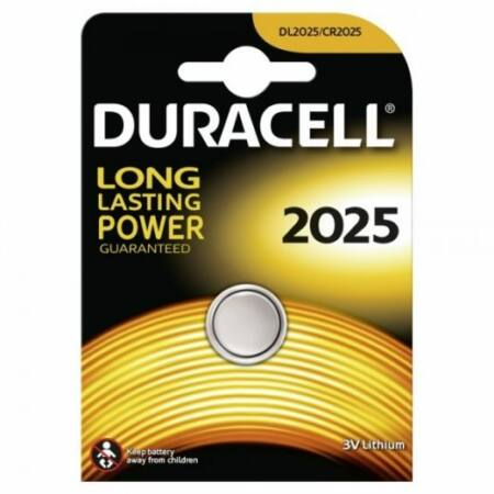 Duracell CR2025 gombelem