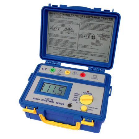 Peaktech 1115 - Digitális földelési ellenállásmérő