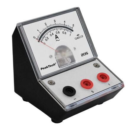 Peaktech 205-09 - Analóg árammérő, 0 ... 1 / 5 A AC