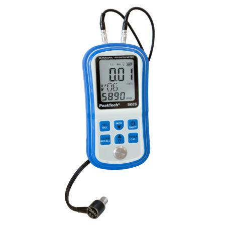 Peaktech 5225 - Ultrahangos vastagságmérő