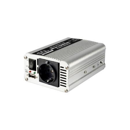 Feszültséginverter, 300/600W, USB aljzat