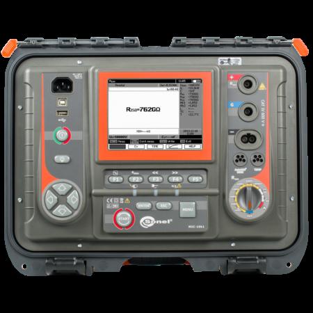 Sonel MIC-10k1 - Szigetelési ellenállásmérő 40 TΩ-ig