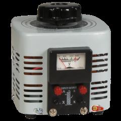 Szabályozható toroid transzformátor, analóg, 0…250 V / 500 W, McPower V-2000