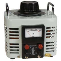 Szabályozható toroid transzformátor, analóg, 0…250 V / 1000 W, McPower V-4000