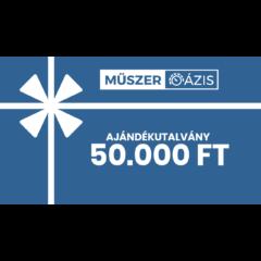 50.000 Ft értékű Műszeroázis.hu ajándékutalvány