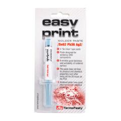 Easy Print forraszpaszta (Sn62Pb36Ag2) 8g