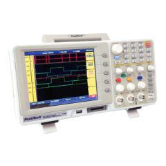 Peaktech 1190 - Digitális tárolós oszcilloszkóp, 100 MHz/16 CH logikai analizátorral