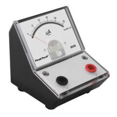 Peaktech 205-01 - Analóg árammérő, 0 ... 50 µA DC