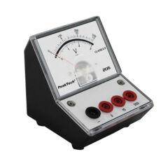 Peaktech 205-07 - Analóg feszültségmérő, 0 ... 3 / 15 / 300 V DC