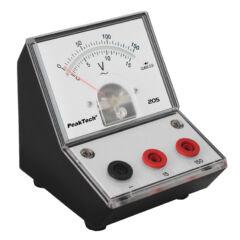 Peaktech 205-11 - Analóg feszültségmérő, 0 ... 15 / 150 V AC