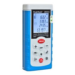 Peaktech 2800A - Lézeres távolságmérő, terület és térfogat számítás