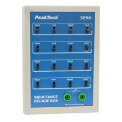 Peaktech 3290 - Induktivitás dekád box