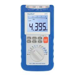 Peaktech 4395 - Digitális szigetelési ellenállásmérő multiméter, 1000 V, 4000 MΩ