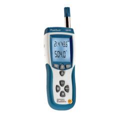 Peaktech 5040 - 3 az 1-ben hő és páratartalom mérő, IR hőmérő, USB