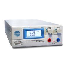 Peaktech 6160 - Laboratóriumi kapcsolóüzemű DC tápegység, 1 - 30 V / 0 - 30 A DC