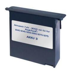 Peaktech AKKU3 - Lítium-polimer akkumulátor, 8 Ah