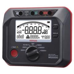 Sanwa MG5000 - Szigetelési ellenállásmérő