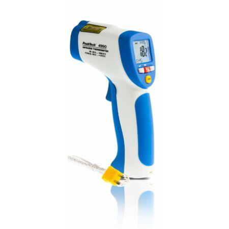 Peaktech 4950 - Infra hőmérő és hőmérő, -50 ... + 850°C