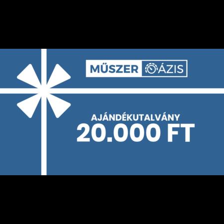 20.000 Ft értékű Műszeroázis.hu ajándékutalvány