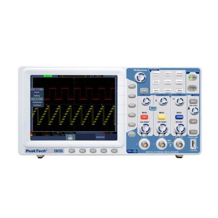 Peaktech 1305 - Digitális tárolós oszcilloszkóp 70 MHz, 1 GSa/s