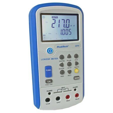 Peaktech 2170 - LCR-ESR mérő, USB