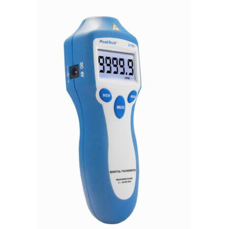 Peaktech 2790 - Optikai fordulatszámmérő, 5 digit